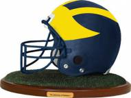 Michigan Wolverines Collectible Football Helmet Figurine