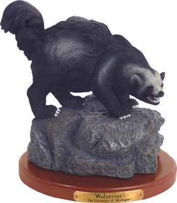 Michigan Wolverines Collectible Mascot Figurine