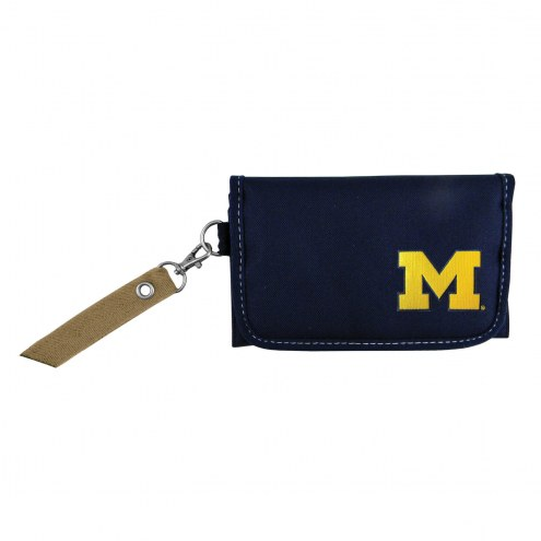 Michigan Wolverines Ribbon Organizer Wallet
