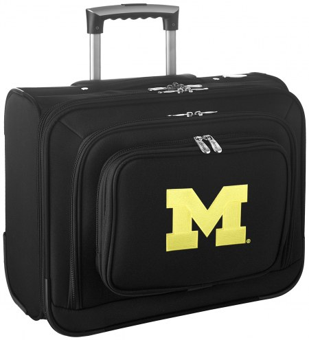Michigan Wolverines Rolling Laptop Overnighter Bag