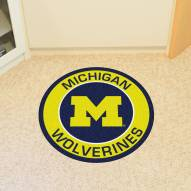 Michigan Wolverines Rounded Mat