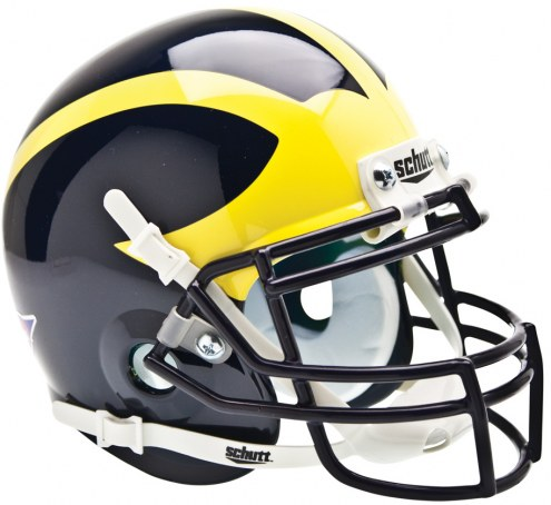 Michigan Wolverines Schutt Mini Football Helmet