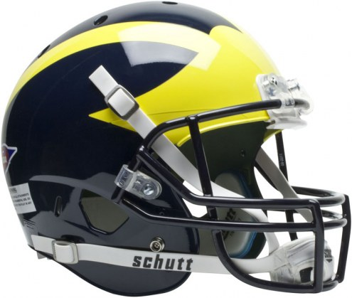 Michigan Wolverines Schutt XP Collectible Full Size Football Helmet