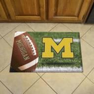Michigan Wolverines Scraper Door Mat