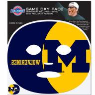 Michigan Wolverines Set of 8 Game Day Faces