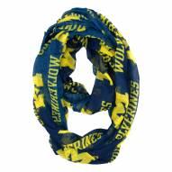 Michigan Wolverines Sheer Infinity Scarf