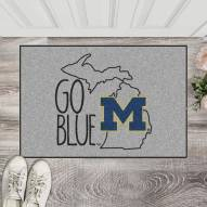 Michigan Wolverines Southern Style Starter Rug