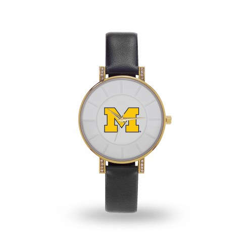 Michigan Wolverines Sparo Women's Lunar Watch