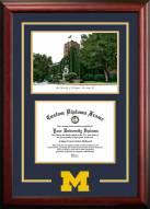 Michigan Wolverines Spirit Graduate Diploma Frame