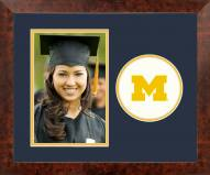 Michigan Wolverines Spirit Vertical Photo Frame