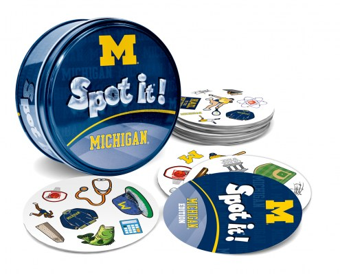 Michigan Wolverines Spot It! Card Game