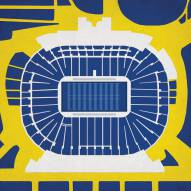 Michigan Wolverines Stadium Print
