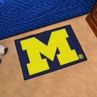 Michigan Wolverines Starter Rug