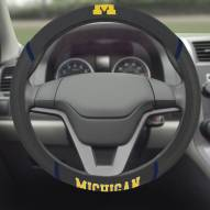 Michigan Wolverines Steering Wheel Cover