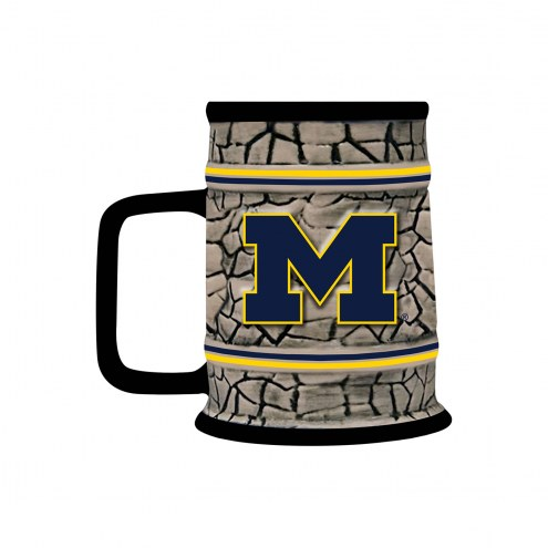 Michigan Wolverines Stone Stein
