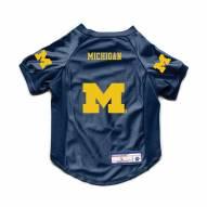 Michigan Wolverines Stretch Dog Jersey