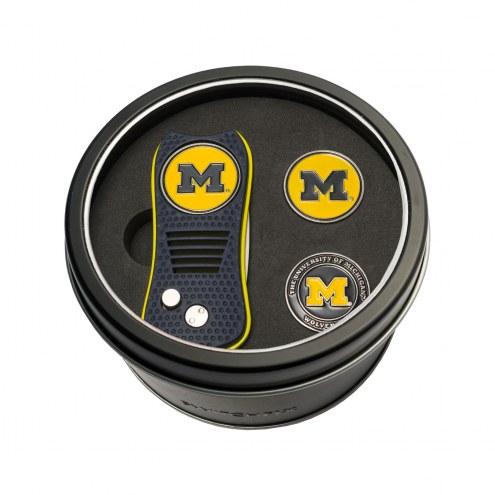 Michigan Wolverines Switchfix Golf Divot Tool & Ball Markers