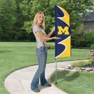 Michigan Wolverines Swooper Flag