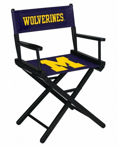 Michigan Wolverines Table Height Director's Chair