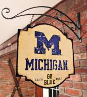 Michigan Wolverines Tavern Sign
