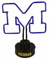 Michigan Wolverines Team Logo Neon Lamp