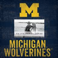 "Michigan Wolverines Team Name 10"" x 10"" Picture Frame"