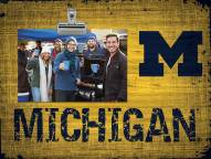 Michigan Wolverines Team Name Clip Frame
