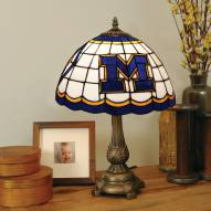 Michigan Wolverines Tiffany Table Lamp