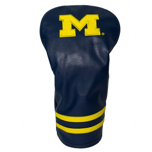 Michigan Wolverines Vintage Golf Driver Headcover