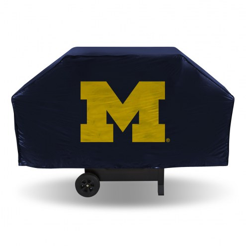 Michigan Wolverines Vinyl Grill Cover
