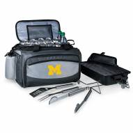 Michigan Wolverines Vulcan Cooler & Propane Grill