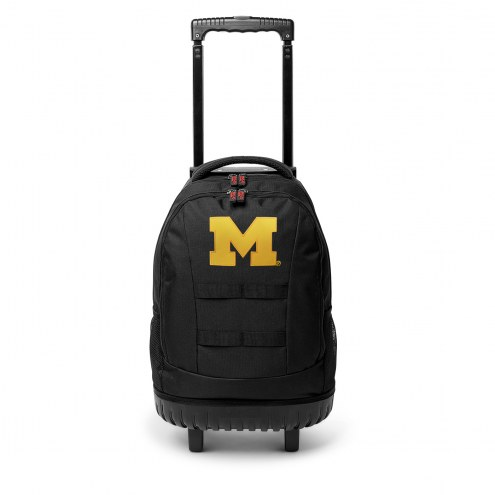NCAA Michigan Wolverines Wheeled Backpack Tool Bag