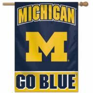 """Michigan Wolverines 28"""" x 40"""" Banner"""