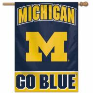 "Michigan Wolverines 28"" x 40"" Banner"