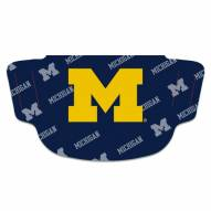 Michigan Wolverines Face Mask Fan Gear