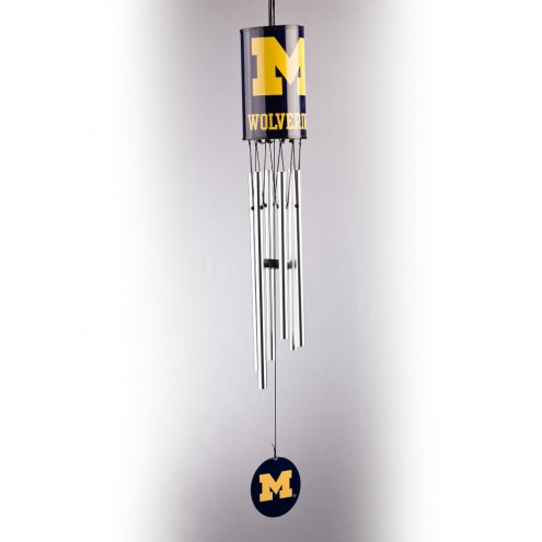 Michigan Wolverines Wind Chimes