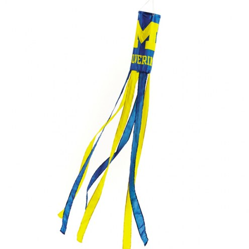 Michigan Wolverines Windsock