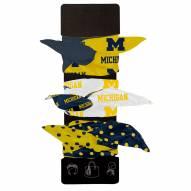 Michigan Wolverines Wired Hair Tie