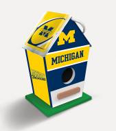 Michigan Wolverines Wood Birdhouse
