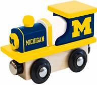 Michigan Wolverines Wood Toy Train