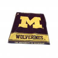 Michigan Wolverines Woven Golf Towel