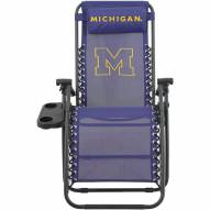 Michigan Wolverines Zero Gravity Chair