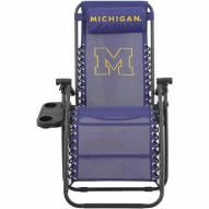 Michigan Wolverines Zero Gravity Chair