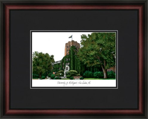 University of Michigan Ann Arbor Academic Framed Lithograph