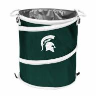 Michigan State Spartans Collapsible Trashcan