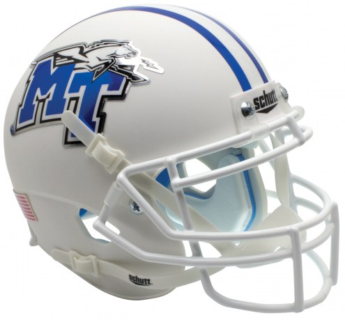 Middle Tennessee State Blue Raiders Alternate 1 Schutt XP Collectible Full Size Football Helmet