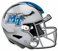 "Middle Tennessee State Blue Raiders 12"" Helmet Sign"