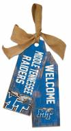 "Middle Tennessee State Blue Raiders 12"" Team Tags"
