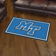 Middle Tennessee State Blue Raiders 3' x 5' Area Rug