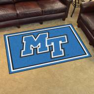 Middle Tennessee State Blue Raiders 4' x 6' Area Rug